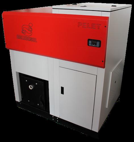 Caldera de Pellet - Industrial - CI 35 - CI100 (bajo pedido)